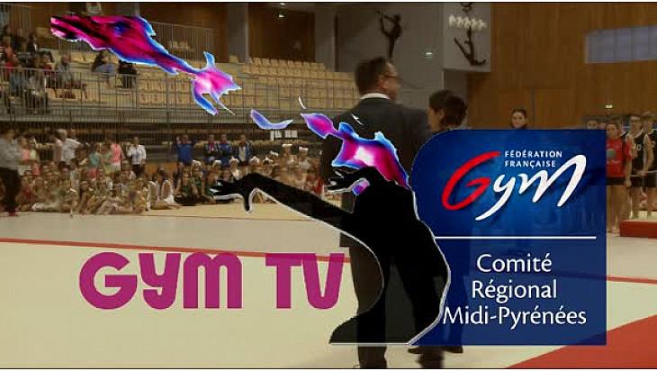 Gymnastique FESTI CLUBS LOISIRS du 19 novembre 2016:  prestation de l'Avant Garde de Graulhet (81)